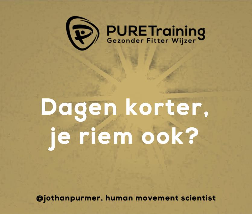 riem, afvallen, buik, muffintop, Jothan Purmer, Personal Trainer, afvallen, ouderkerk