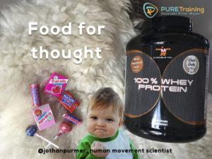Eiwitten, afvallen, suikers